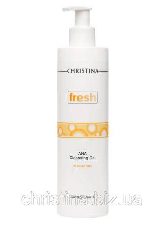 Очищаюшее мыло с альфагидроксильными кислотами для жирной кожи лица 300мл Fresh Milk Cleansing Gel
