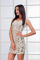 """Стильное молодежное платье мини """" Жемчуг """" Dress Code , фото 1"""