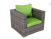 Лаунжевое кресло RenGard из искусственного ротанга