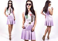"""Стильное молодежное платье мини """" Италия """" Dress Code , фото 1"""