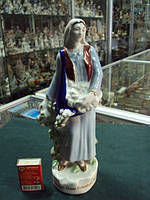 Фарфоровая фигурка Дулево уборка урожая 1939 год