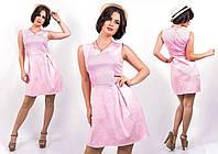 """Стильное молодежное платье мини """" Жаккард """" Dress Code , фото 1"""