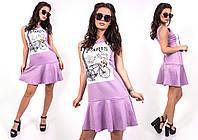 """Стильное молодежное платье мини """" Париж """" Dress Code , фото 1"""