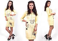"""Стильное молодежное платье мини """" Мышки """" Dress Code , фото 1"""