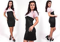 """Стильное молодежное платье мини """" Офис """" Dress Code , фото 1"""