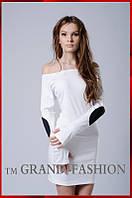 Платье Латки  молочный - размеры 42-44