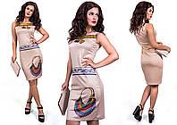 """Стильное молодежное платье мини """" Колье """" Dress Code , фото 1"""