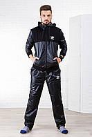 """Стильный дутый мужской спортивный костюм  """" Adidas """" Dress Code, фото 1"""