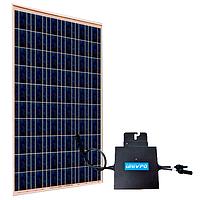 Мережева сонячна електростанція 250Вт на мікроінверторі, фото 1