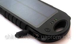 Солнечная батарея  UKC Power bank solar 28000 mAh с мощным фонарем new2, фото 3