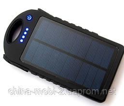 Солнечная батарея  UKC Power bank solar 28000 mAh с мощным фонарем new2, фото 2