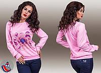 """Стильная женская кофта  """" Орхидея """" Dress Code, фото 1"""