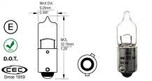 Мощная светодиодная  лампа  SLP LED с цоколем BAY9S (H21W) (H6W) Cree 50W 9-30V Белый, фото 3