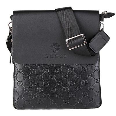 06afb663dc39 Мужская сумка Gucci, черная Гуччи (УЦЕНКА, ремешок)  продажа, цена в ...