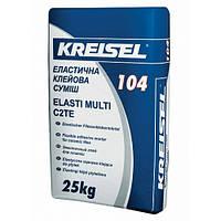 Клей KREISEL Эласт Мульти 104 для керамамической плитки, 25 кг