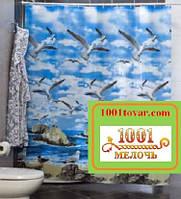 """Шторка для ванной комнаты """"Seamew"""", Miranda. Производство Турция, фото 1"""