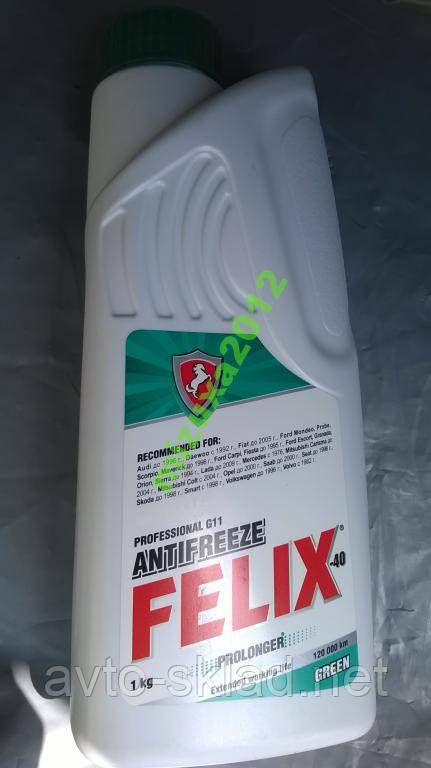 Тосол 1л FELIX PROL t-40 зеленый, красн (Антифриз)