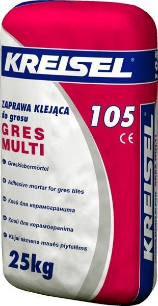 KREISEL клей для керамогранита 105 Gres Multi (25кг)