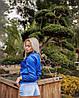 Куртка-бомбер женская на подкладке, фото 2