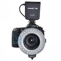 Кольцевая макровспышка/подсветка Aputure Amaran AHL-C60 для Canon.