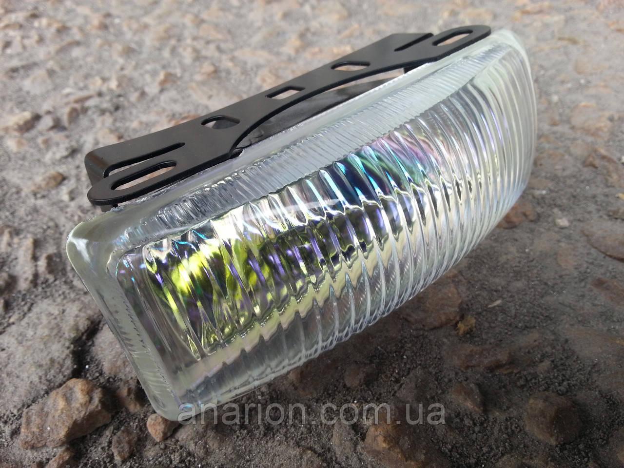 Противотуманные фары №0201 (кристалл) с ребристым стеклом.