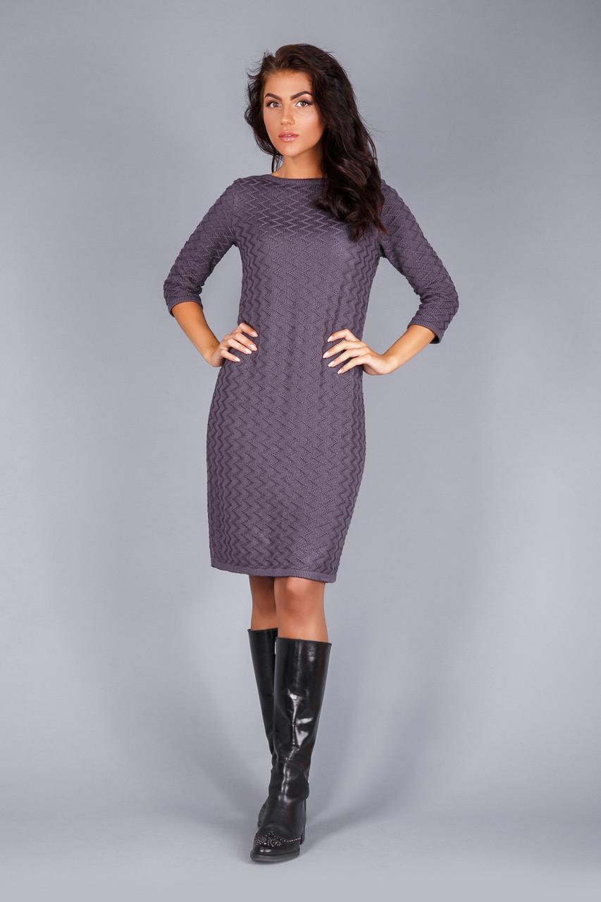 f8cfaa542f5 Теплое платье осень-зима - Интернет магазин одежды Жасмин. в Хмельницком
