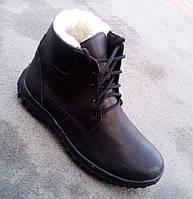 Мужские кожаные зимние ботинки 39, 40, 41, 42, 43, 44, 45, 46, 47 р-ры  , фото 1