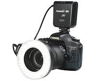 Кольцевая макровспышка/подсветка Aputure Amaran HN100 для Nikon.