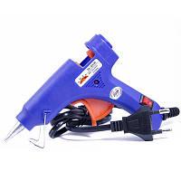 Пистолет Tермоклеевой, для Стержней толщиной 7мм, Синий, Размер: 13.5x10.5 см, Напряжение: 100-240 V, (УТ0004165)