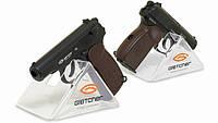 Пистолет пневматический Gletcher PM. Копия пистолета Макаров, 18-ти зарядный магазин, +предохранитель