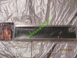 Рамка номера нержавіюча сталь СУПЕР РН-60050