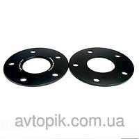 Автомобильное расширительное кольцо (Spacer) Н = 10 мм PCD5*112 ( HS26 ) DIA66,6 -> 66,6