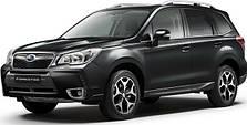 Пороги на Subaru FORESTER (c 2013---)