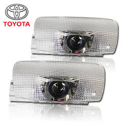 LED Welcome lamp with Logo TOYOTA