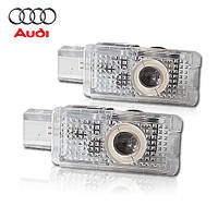 AUDI LED Welcome lamp with Logo