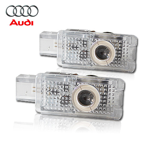 Welcome lamp with Logo AUDI LED