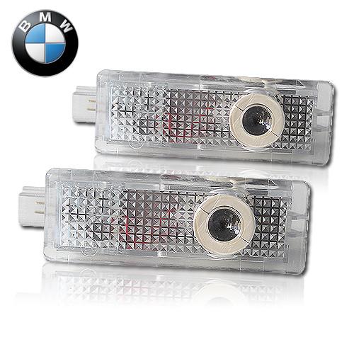Штатная подсветка дверей с логотипом BMW - БМВ (Logo BMW LED)