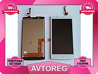 Дисплей Lenovo A2010 + Touchscreen white