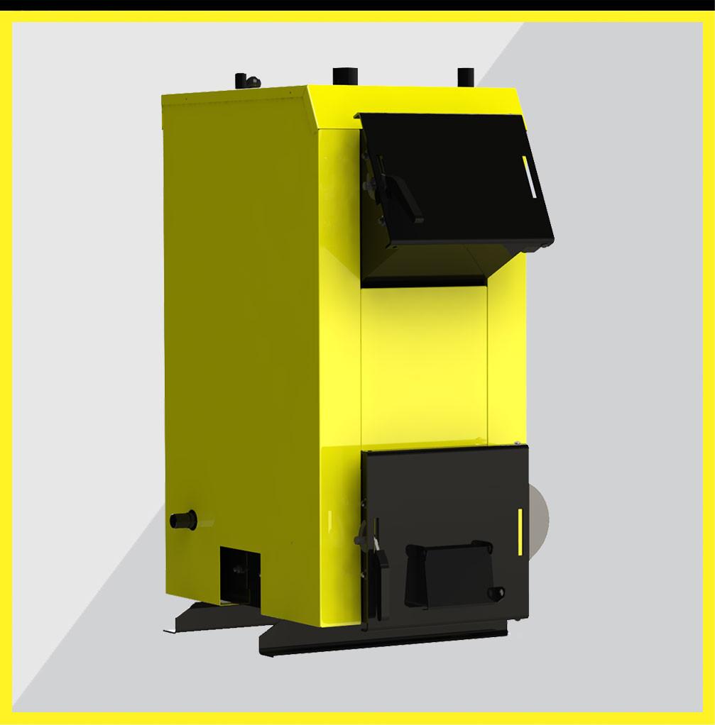Kronas EKO 20 кВт - экономичный универсальный твердотопливный котел