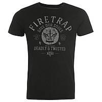 Модная стильная футболка Firetrap размер S 46-48Ru