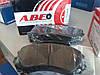 Дисковые тормозные колодки АБЕ (производитель ABE, Польша)