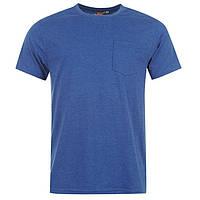 Модная стильная футболка с карманом Lee Cooper