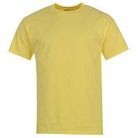 Однотонная мужская футболка Hanes хлопок