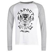 Реглан футболка длинный рукав Tapout Raglan White