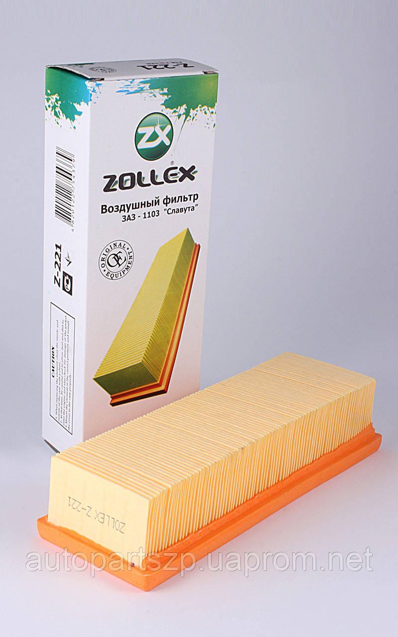 Фильтр воздушный Заз 1102 1103 Таврия Славута инжектор ZOLLEX