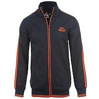 Спортивная кофта олимпийка Lonsdale Navy/Orange 44