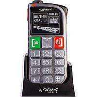 Бабушкофон Sigma mobile Comfort 50 LIGHT Dual SIM Серый