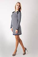 Молодежное платье-туника 1077