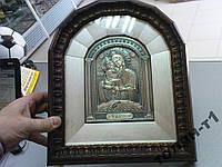 Икона Почаевская серебро 925 вес 314г