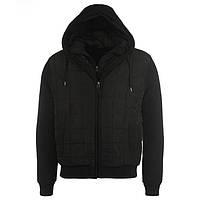 Стильная тёплая куртка Firetrap Black S46Ru Англия